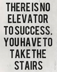 There is no short cut to success