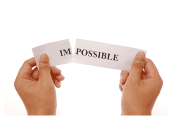 make the impossible--possible